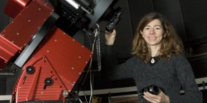 Photo of Orsola De Marco in the Macquarie University Observatory